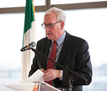 Guest Speaker, ICBA Maple Leaf Dinner, 2013, Christoph Mueller, Michael Kenneally