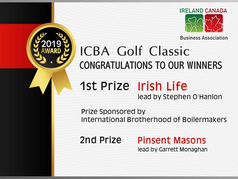 ICBA Golf Classic 2019 Winners