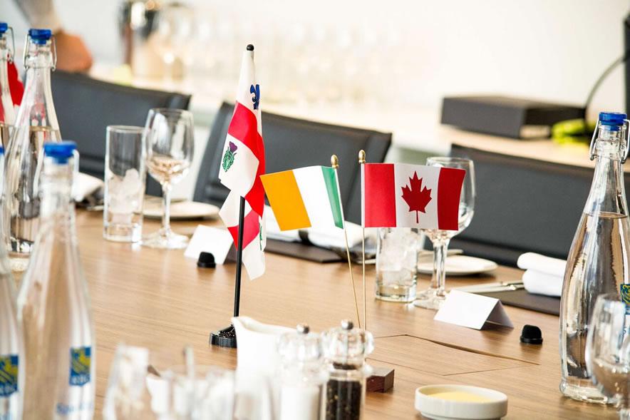 Mayor of Montreal meets ICBA