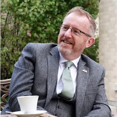 Eamonn McKee Ambassador