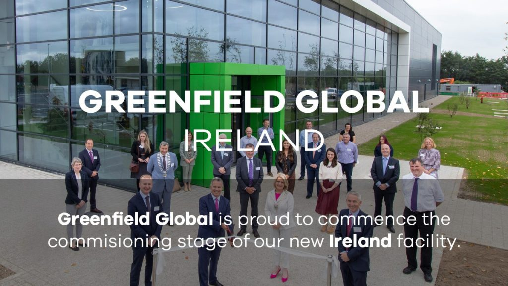 Greenfield Global expansion in Ireland