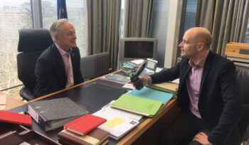 ICBA meets Richard Bruton