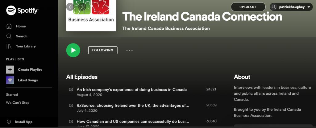 ICBA podcasts