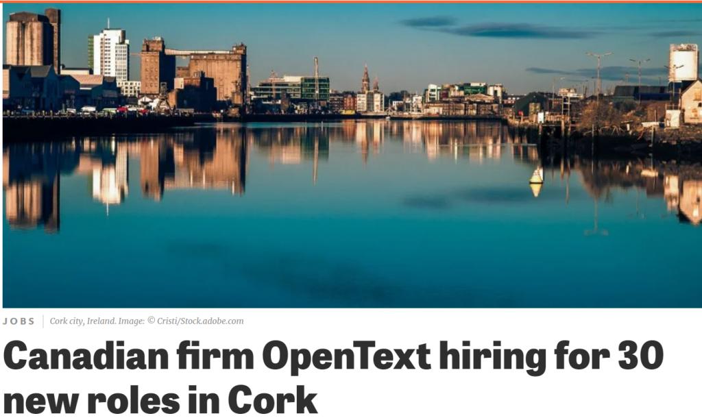 Open Text in Ireland